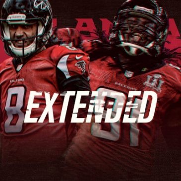 FALCONS AGREE TO TERMS ON EXTENSIONS WITH UPSHAW, SCHAUB